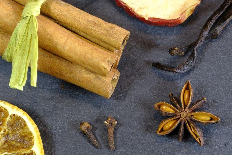 Photo de diverses épices
