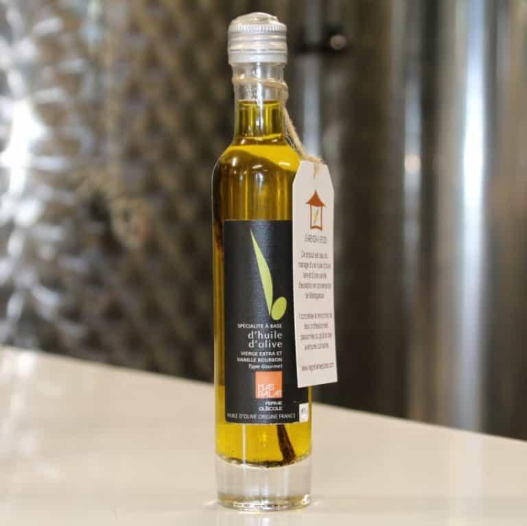 Huile d'olive infusée à la vanille Bourbon